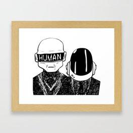 Human after all Framed Art Print