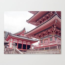 Kyoto Temple, Japan Canvas Print