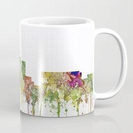 Durham,NC Skyline - Faded Glory Coffee Mug