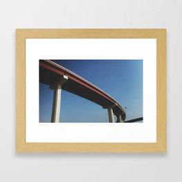 BRIDGED Framed Art Print