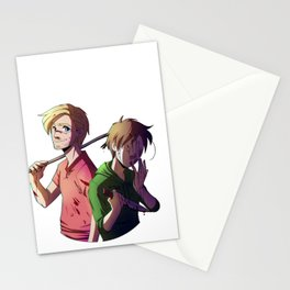 Pewdiecry Stationery Cards