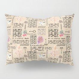 Vintage background Pillow Sham