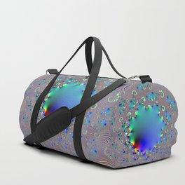 Psychedelic sunburst Duffle Bag