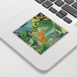 Jungle Leopard Sticker