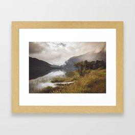 Light in Norway Framed Art Print