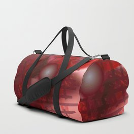 Rope and planet Duffle Bag