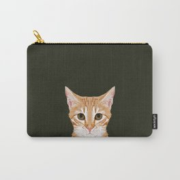 Chase - Cute Cat gifts for pet lovers cat lady gifts and perfect gifts for cat person and cute tabby Carry-All Pouch