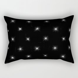 Diamond Stars Pattern Rectangular Pillow