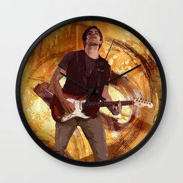 Keep On Rockin' Wall Clock