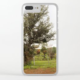 Western Image Clear iPhone Case