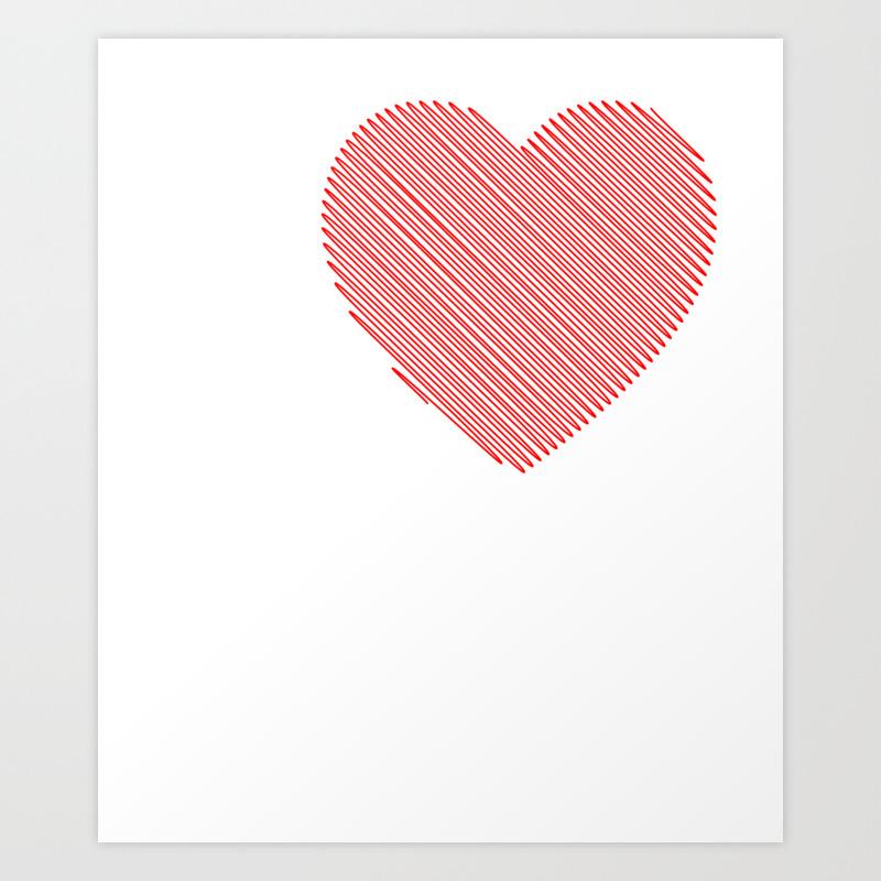 I Love Midget Porn I Heart Midget Porn Funny T Shi… Art Print by Merchtrending PRN8855485