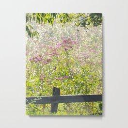 In the Meadow Wildflowers Bloom Metal Print
