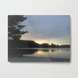 Western Massachusetts Lake USA Metal Print
