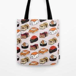 Sushi Persian Cat Tote Bag