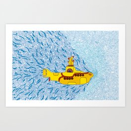 My Yellow Submarine Art Print