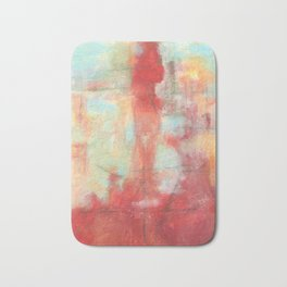Ascension, Abstract Art Painting Bath Mat