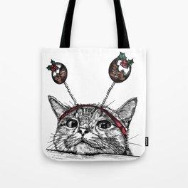 Bored Cat Tote Bag