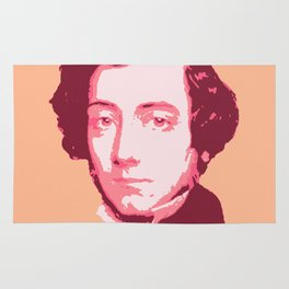 Alexis de Tocqueville Rug