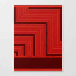 A Grid is a System Canvas Print