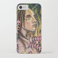 phoenix iPhone & iPod Cases featuring phoenix by Beth Jorgensen