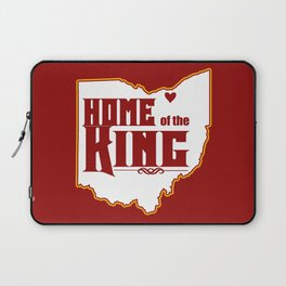 Home of the King (Red) Laptop Sleeve
