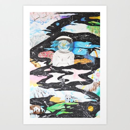 Open Sky Art Print