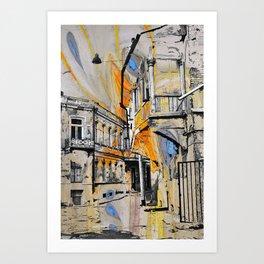Tbilisi 2 Art Print