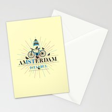 amsterdam & istanbul Stationery Cards