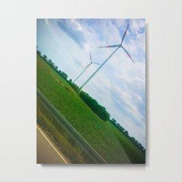 Wind Energy  Metal Print