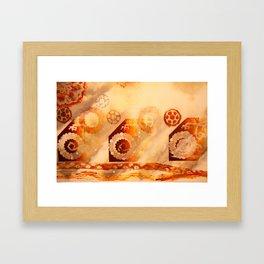 Seething Framed Art Print