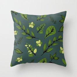 Flower Design Series 8 Throw Pillow