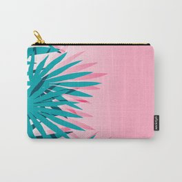 Dissed - memphis retro vintage neon pink pastel ombre trendy girl gift for hipster urban beach goer Carry-All Pouch
