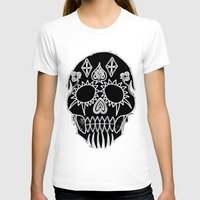 led zeppelin T-shirts featuring LED Skull by Max Wellsman