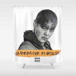 Imperator Furiosa - Mad Max Fury Road Shower Curtain