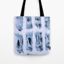 Snow Pattern Tote Bag