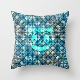 cat c sub Throw Pillow