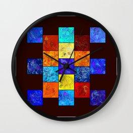 Ecleptios - colourful world Wall Clock