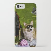 superheroes iPhone & iPod Cases featuring Superheroes SF by Carla Broekhuizen