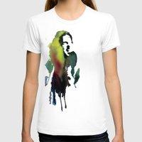 haim T-shirts featuring Little acrylic HAIM by MGNFQ