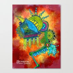 Mechanical MidWar Sprouts Canvas Print