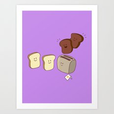Toasty Business! Art Print