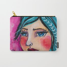 Pink princess Carry-All Pouch