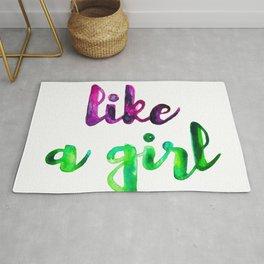 Like a Girl Rug