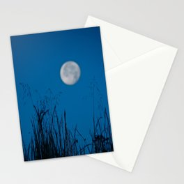 Faded Moon Stationery Cards