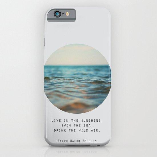 Swim The Sea iPhone & iPod Case