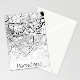 City Neck Gaiter Pasadena Texas Map Neck Gator Stationery Cards