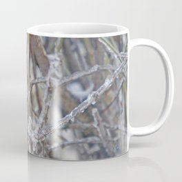 Robin in Winter | Rotkehlchen im Winter Coffee Mug
