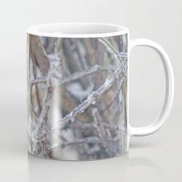 Robin in Winter | Rotkehlchen im Winter Coffee Mug