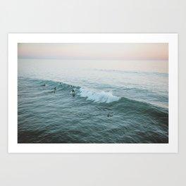 Let's Surf V Art Print