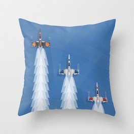 Scherzo For X-Wings Throw Pillow